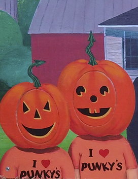 pumpkin kid fun board